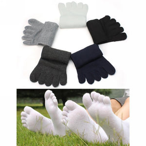 Separate Toe Socks Comfortable Sanwony  Fashion Men Five Fingers  Warm Hot Sale Free Shipping NWM0001