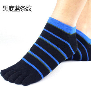 Wiggle Socks 2 Pairs/Lot New Unisex Socks Cotton Meias Sports Five Finger Socks Casual Toe Socks Breathable Calcetines Ankle Socks 21 Colors - Cerkos  - 26