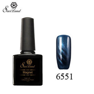 Saviland 3D Magnet UV Nail Gel Polish Cat Eye Colors Manicure Cat Colors 10ml Healthy and Eco-friendly Gel Lacquer Best On Ali - Cerkos  - 9