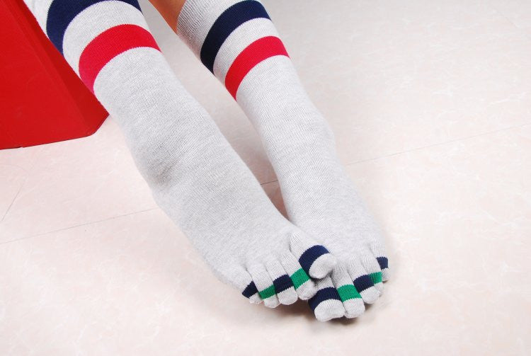 Wiggle Socks Fashionable design special price toe socks men's socks 100% cotton and sport style new coming socks - Cerkos  - 16