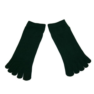 Wiggle Socks1 Pair Casual style Ventilation Socks Combed Cotton Sports Five Finger Short Socks Toe Socks - Cerkos  - 7