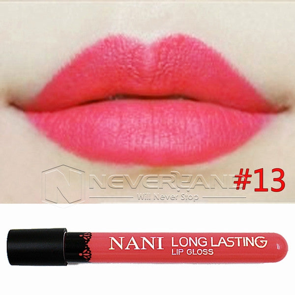 Hot Sale Waterproof Elegant Daily Color Lipstick matte smooth lip stick lipgloss Long Lasting Sweet girl Lip Makeup C10 - Cerkos  - 12