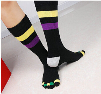 Wiggle Socks Fashionable design special price toe socks men's socks 100% cotton and sport style new coming socks - Cerkos  - 1
