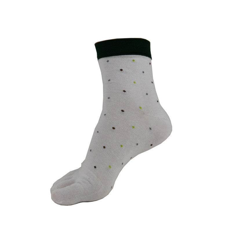 Wiggle Socks 1 Pair/Lot New Men's Socks Cotton Meias leisure Five Finger Socks Toe Socks For EU 39-44.5 Calcetines standad - Cerkos  - 4