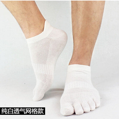 Wiggle Socks 2015 summer New Mens Socks Cotton Meias Sports Five Finger Socks Casual Toe Socks Breathable Calcetines Ankle Socks - Cerkos  - 14