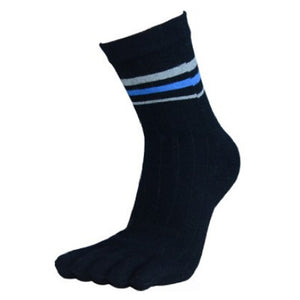 Wiggle Socks 1 Pair Cotton Middle Tube Sports Five Finger Toe Socks Good Quality - Cerkos  - 1