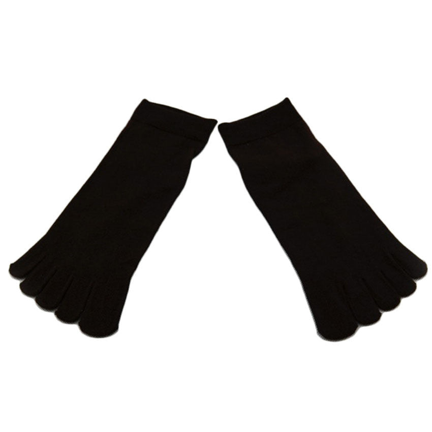 Wiggle Socks1 Pair Casual style Ventilation Socks Combed Cotton Sports Five Finger Short Socks Toe Socks - Cerkos  - 5