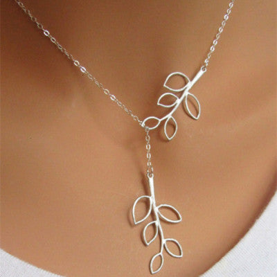 Hot sale !!! Fashion Casual Personality Infinity Cross Lariat Pendant Necklace - Cerkos  - 12
