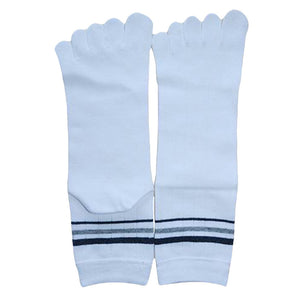 Wiggle Socks 1 Pair Cotton Middle Tube Sports Five Finger Toe Socks Good Quality - Cerkos  - 9