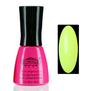 Nail UV Shellac 8ml 240 Fashion Color for Choose Long-lasting LED Gel Polish - Cerkos  - 22