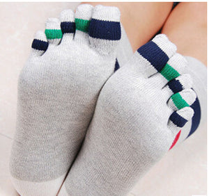 Wiggle Socks Fashionable design special price toe socks men's socks 100% cotton and sport style new coming socks - Cerkos  - 14
