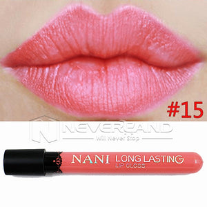 Hot Sale Waterproof Elegant Daily Color Lipstick matte smooth lip stick lipgloss Long Lasting Sweet girl Lip Makeup C10 - Cerkos  - 17