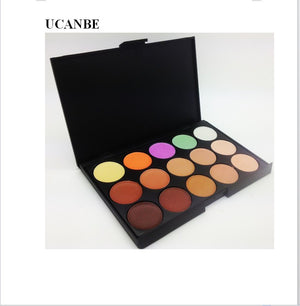 Professional 15 Color Camouflage Facial Concealer Palettes Neutral Makeup Cosmetic - Cerkos  - 3