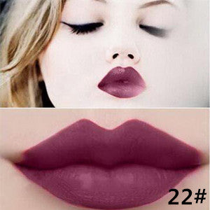Matte lipstick 11 colors velvet high quality waterproof Lipgloss colors sexy mc lipstick - Cerkos  - 18