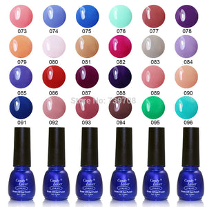 Hot-selling Cirstina 240 Fashion Colors UV Gel Polish 8ML Shellac Nail Gel 1 pcs - Cerkos  - 1