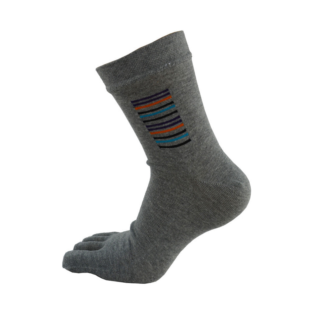 Wiggle Socks Sport Socks Sweat Deodorant Middle Tube Sports Running Socks Fashion Five Toe Socks - Cerkos  - 15