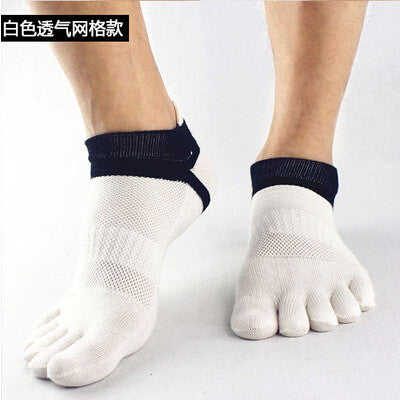 Wiggle Socks 2015 summer New Mens Socks Cotton Meias Sports Five Finger Socks Casual Toe Socks Breathable Calcetines Ankle Socks - Cerkos  - 9