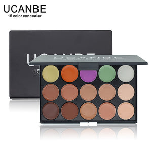 Professional 15 Color Camouflage Facial Concealer Palettes Neutral Makeup Cosmetic - Cerkos  - 1
