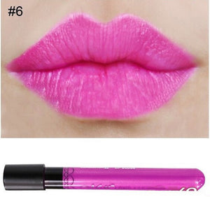 Matte lipstick 11 colors velvet high quality waterproof Lipgloss colors sexy mc lipstick - Cerkos  - 16