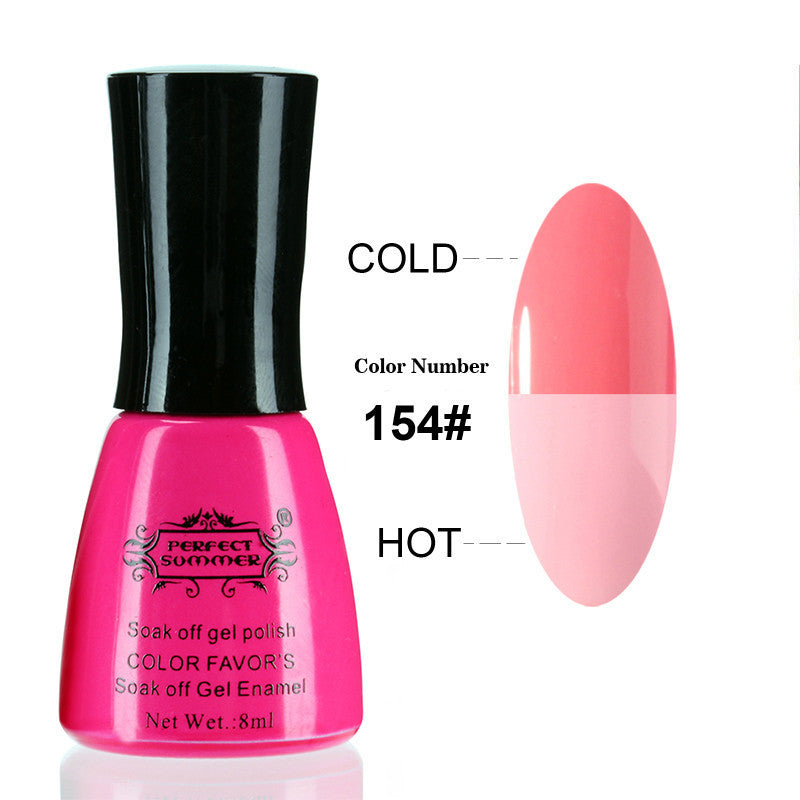 Nail Gel Polish Temperature Change Nail Color UV Gel Polish 10ml 1pcs Nail Gel for Nail soak off gel polish - Cerkos  - 21