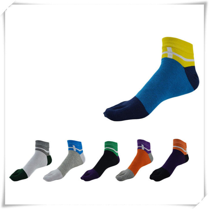 Wiggle Socks Newly Design 5 toe socks Fashion Ventilation Socks Cotton Fiber Meias Sports Five Finger Socks Toes Socks - Cerkos  - 1