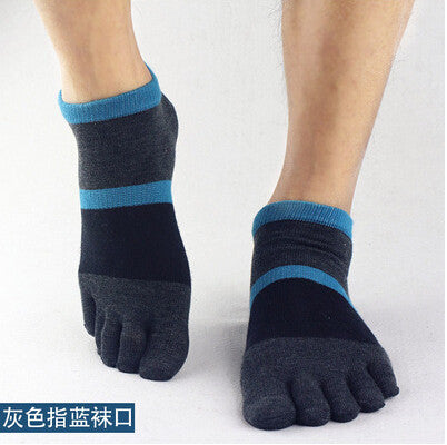 Wiggle Socks 2015 summer New Mens Socks Cotton Meias Sports Five Finger Socks Casual Toe Socks Breathable Calcetines Ankle Socks - Cerkos  - 17