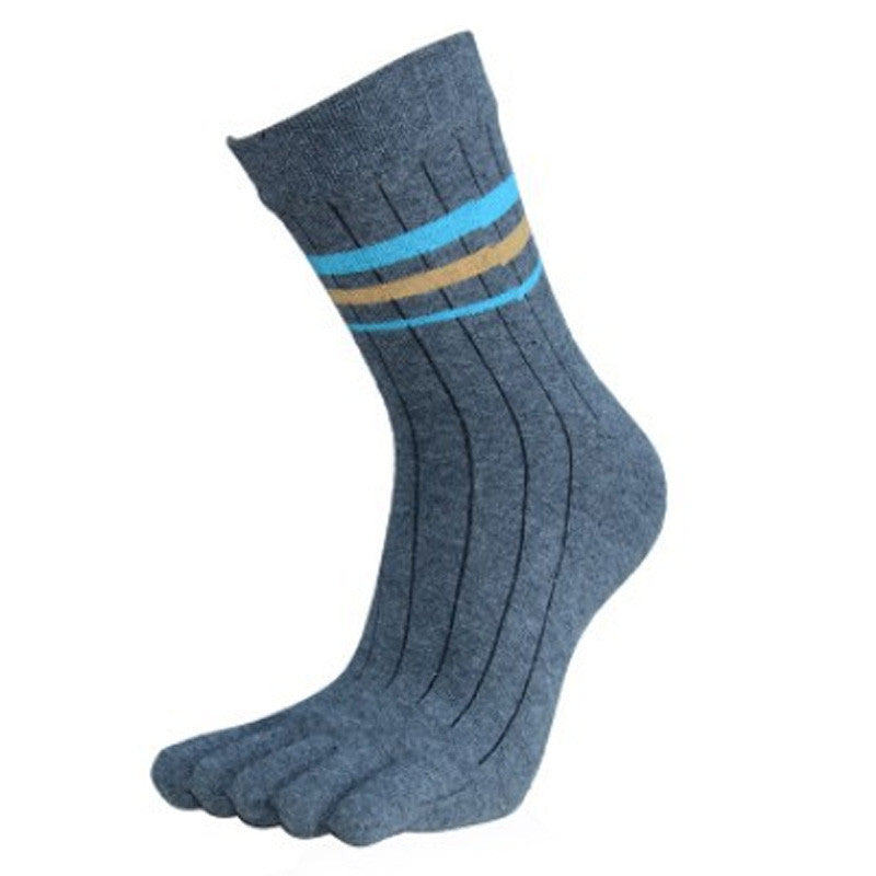 Wiggle Socks 1 Pair Cotton Middle Tube Sports Five Finger Toe Socks Good Quality - Cerkos  - 7