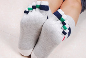 Wiggle Socks Fashionable design special price toe socks men's socks 100% cotton and sport style new coming socks - Cerkos  - 7