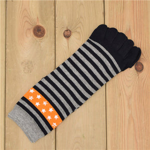 Wiggle Socks New Unisex Socks Cotton Meias Sports Five Finger Socks Toe Socks For EU 40-46 Calcetines Ankle Socls - Cerkos  - 3