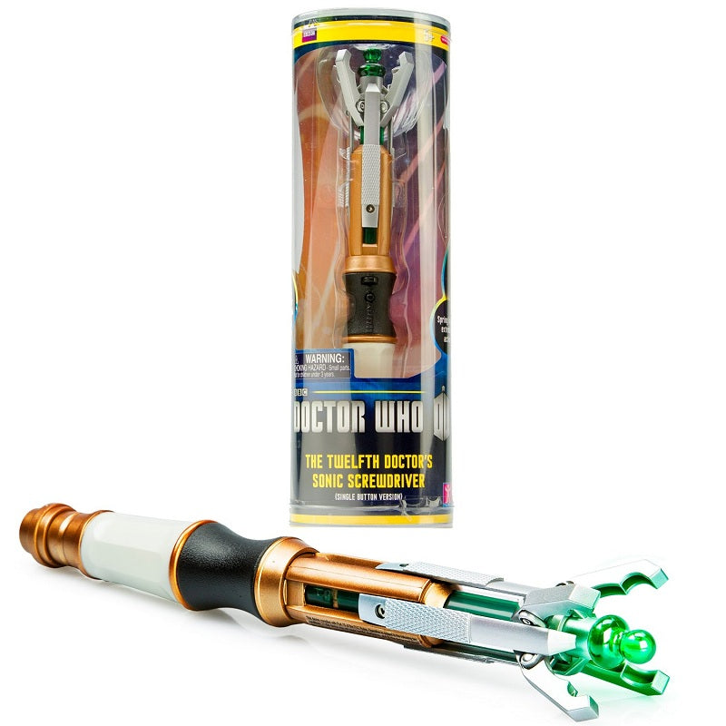sonic screwdriver 10th 11th 12th official doctor who sonic screwdriver in stock same day shipping