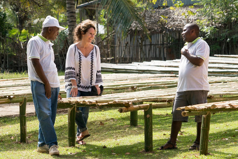 Josephine Lochhead of Cook Flavoring working direct with the Madagascar Vanilla Bean farmers