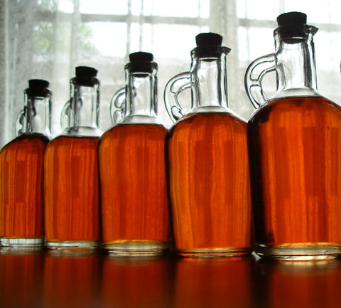 homemade liqueurs with extracts