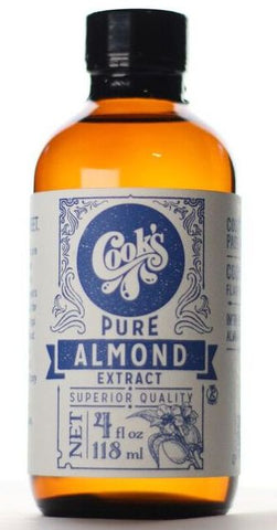 Allergen Free Almond Extract, Pure Almond Extract, Cook Flavoring Company, Allergen Free Extracts