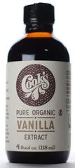 Organic Pure Vanilla Extract, Organic Madagascar Bourbon Vanilla Extract, Cook Flavoring Company