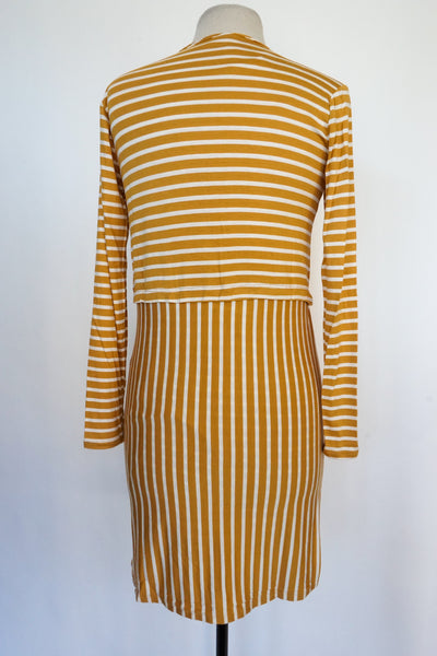 Dolan - Yellow Striped Dress - XS