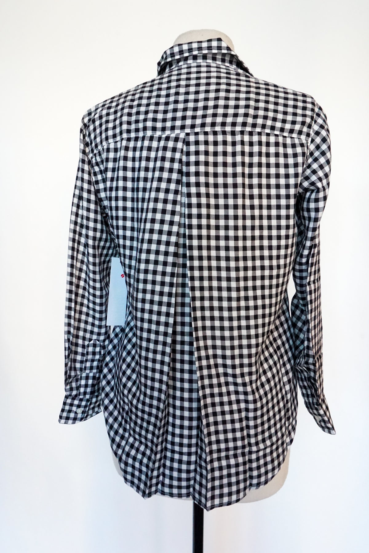 Grayson - Black and White Buffalo Plaid
