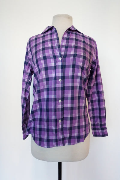 Grayson - Purple Plaid