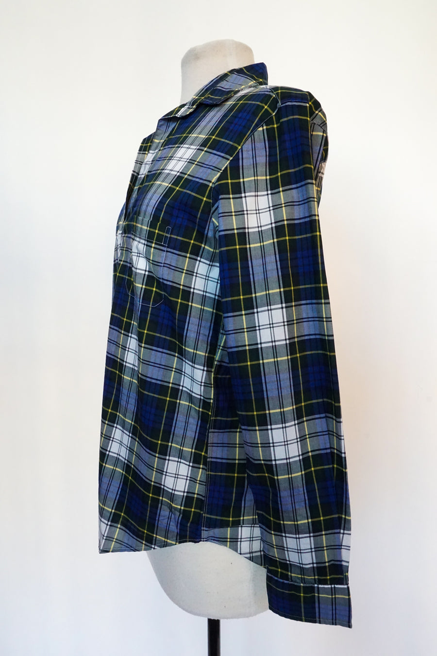 Grayson - Blue Multi Plaid