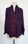 Grayson - Navy with Red Stripes