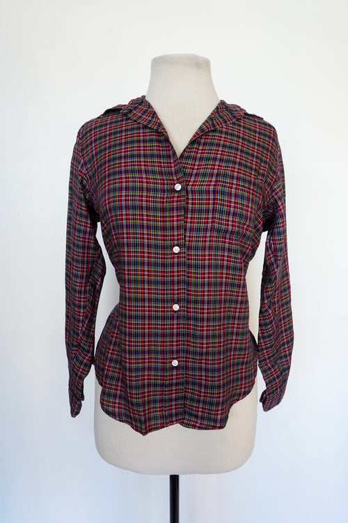 Grayson - Thin Red and Blue Plaid