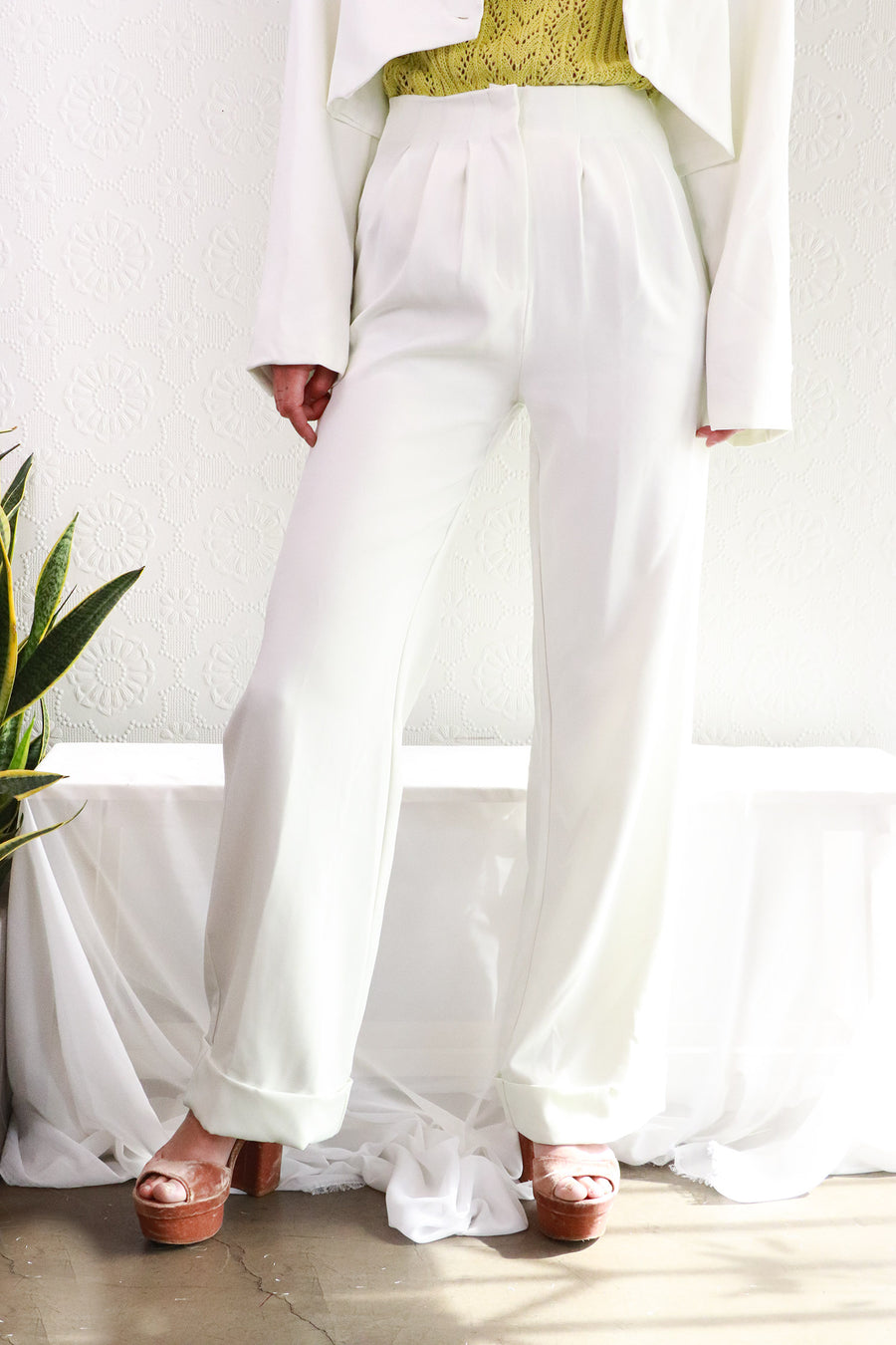 Nasty Gal - Wide Leg Suit Pants