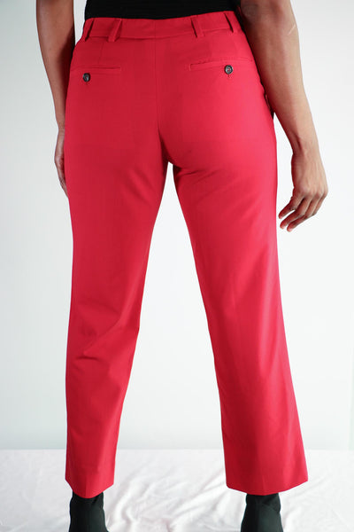 Prada - Red Dress Slacks - US 6