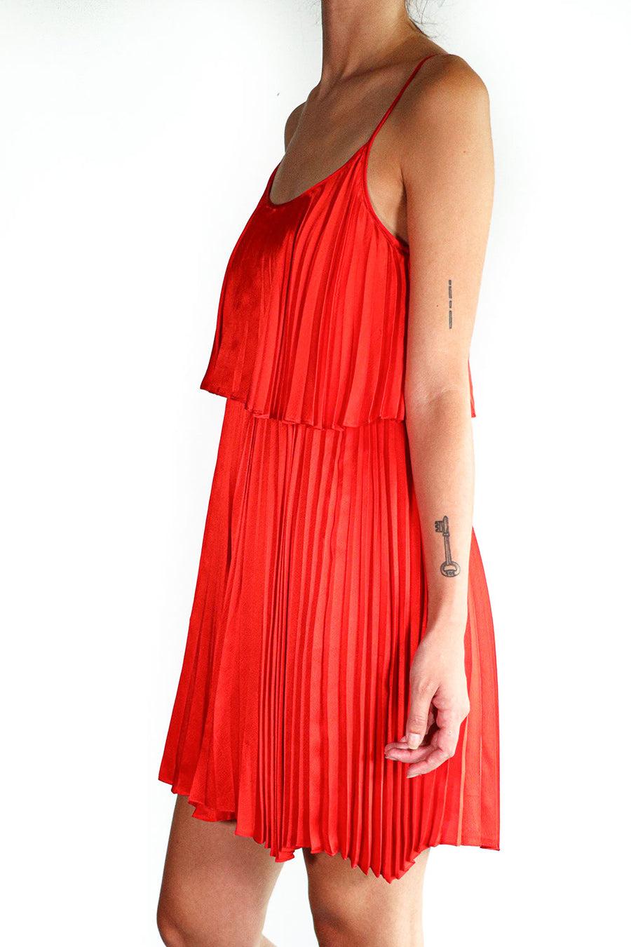 Halston Heritage - Accordion Dress - 0