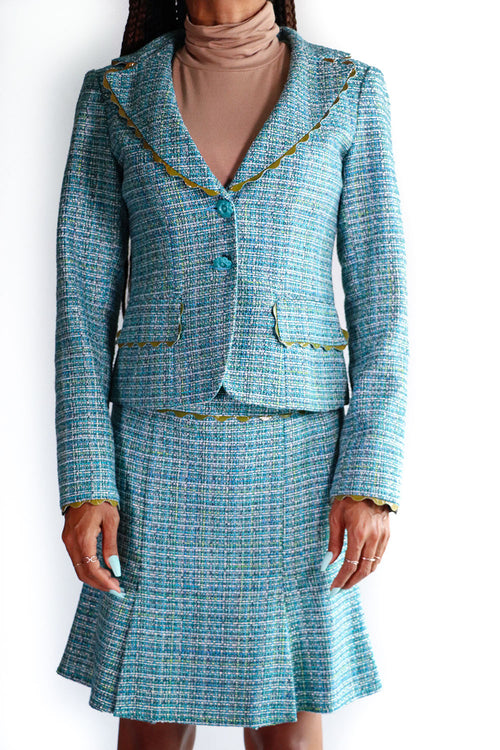 Nanette Lepore - Speckled Tweed Suit - 2
