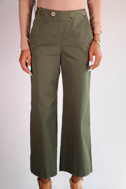 Theory - Namid TS Cropped Pants - 0