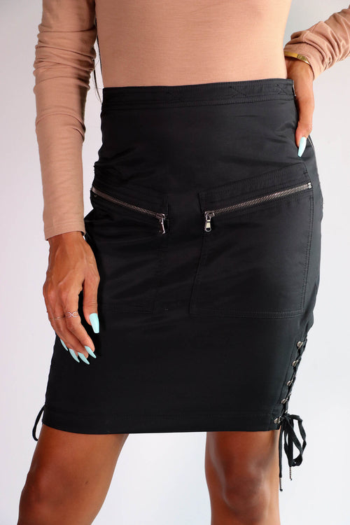 Moschino Couture - Lace Up Skirt - US 6