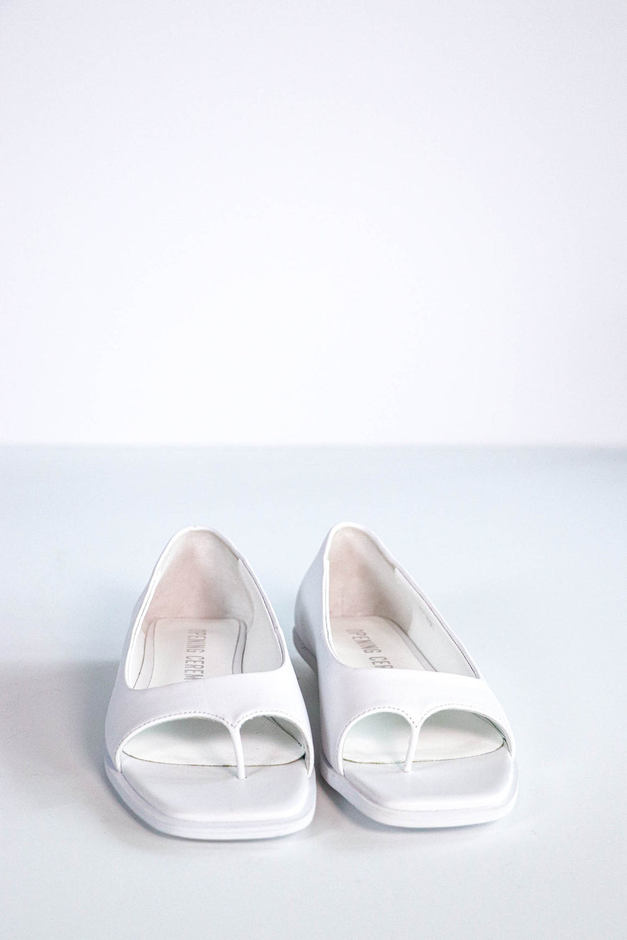 Opening Ceremony - Open Toe Flats - 7.5