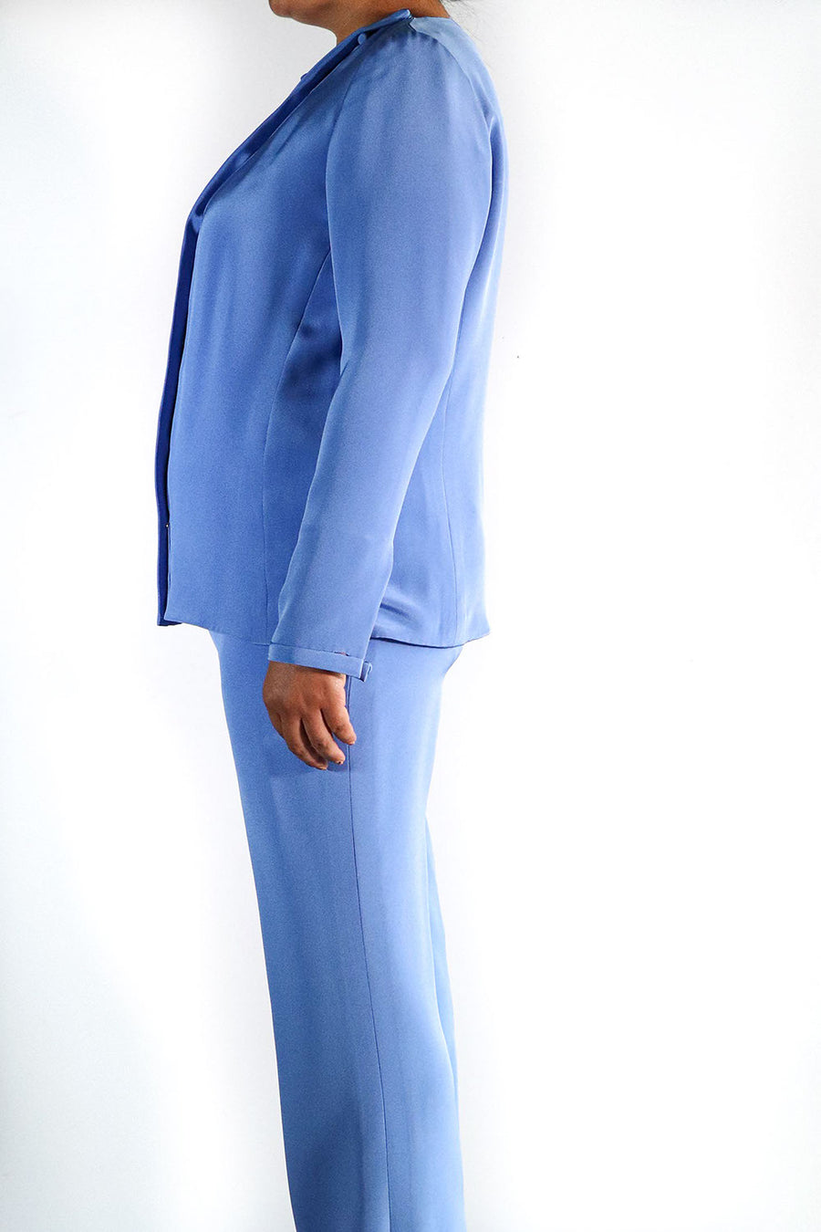 MARK ZUNINO - Periwinkle Suit Set