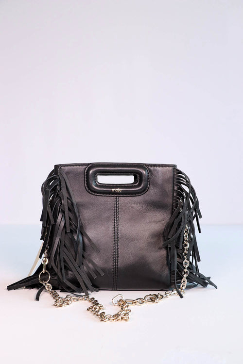 Maje - Fringe Mini Handbag
