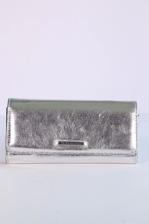 BCBGeneration - Silver Trifold Wallet